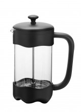 Kávovar french press 1lt sklo/plast