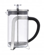 Kávovar french press 600ml sklo/plast/nerez