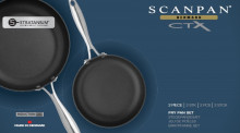 SCANPAN CTX súprava 2ks panvice 28+20cm, SCANPAN